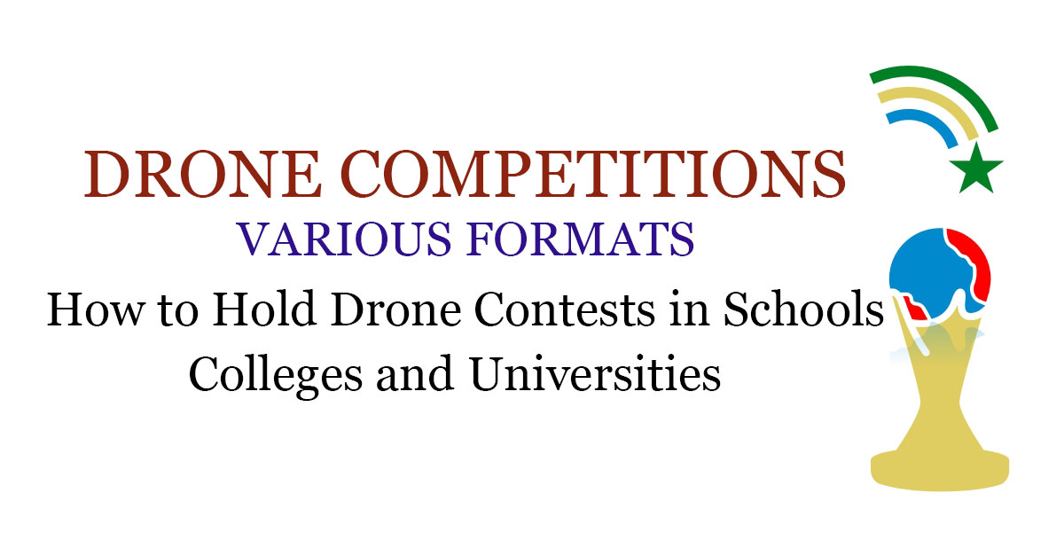 How to arrange Drone Competitions
