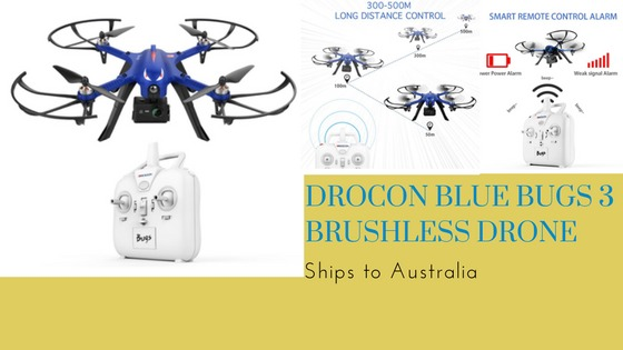 DROCON Blue Bugs 3 Brushless Drone