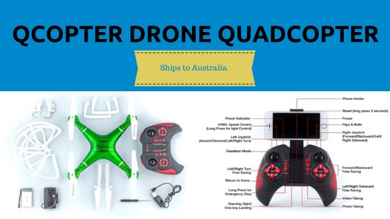 Qcopter drone quadcopter
