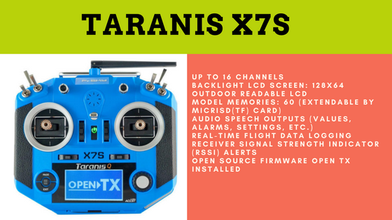 Taranis-x7s-transmitter-for-uav