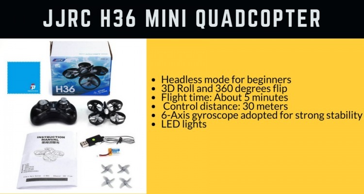JJRC-H36-Mini-QUadcopter