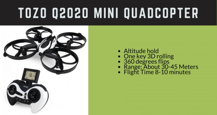 Picture of Tozo Mini Quadcopter